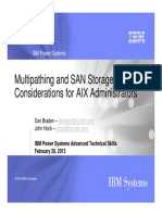 Multipathing and SAN Storage Considerations for AIX Administrators