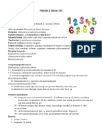 PROIECT DIDACTIC recapitulare