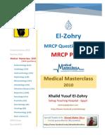 1- Elzohry MasterClass 2010 (MRCP Part2)