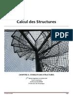 Calcul des Structures_STABILITE_Chapitre II