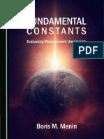 Menin B. Fundamental Constants. Evaluating Measurement Uncertainty 2019