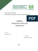 Referat metode de guvernanta corporativa.docx