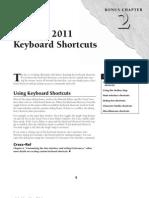 3DS Max 2011 Shortcuts