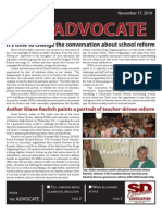 SDEA November 2010 Advocate for Website