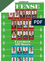 Daily Freeman Football All-Stars