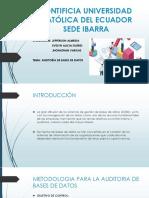 AUDITORÍA DE BASES DE DATOS (1)