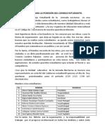 Discurso de Posesión Del Consejo Estudiantil 2019 2020 Octavio Cordero Palacios Jornada Nocturna