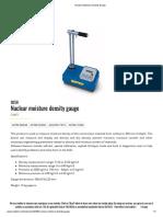 matest necular density gauge