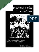 Emile Armand-Camaderia amorosa - Algunas reflexiones sobre amor libre-Anarquia Ediciones
