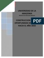 UNIAMZONIA 2032 UNA OPORTUNIDAD DE FUTURO
