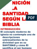 ESTUDIO SOBRE LA SANTIDAD