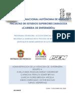 PROGRAMA DE MEJORA. ACCION ESENCIAL 3