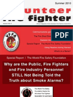 The Volunteer Fire Fighter Magazine - Summer, 2010