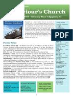st saviours newsletter - 19 jan 2020 - epiphany 2