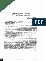 cassani - pedagogía y filosofía