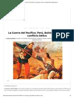 La Guerra del Pacífico_ Perú, Bolivia y Chile en conflicto bélico _ ElPopular.pe