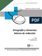 Manual Ortografía y Redacción con TIC