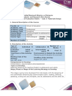 Activity Guide and Evaluation Rubrics - Task 4- Materials Design