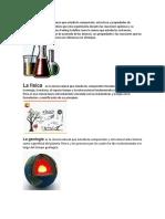 La quimica