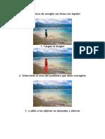 Fácil manera de arreglar sus fotos con Inpaint