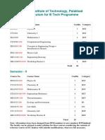 Senate _B Tech Curriculum 1-8 Semesters with designated course numbers (1)