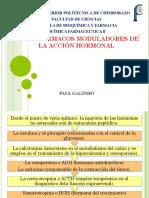 OTROS FÁRMACOS MODULADORES DE LA ACCIÓN HORMONAL