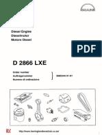 MAN 2866le-parts-manual