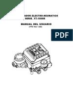 POSICIONADOR ELECTRO-NEUMATICO SERIE YT-1000R MANUAL DEL USUARIO. (YTC Ver 1.02)