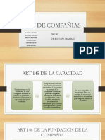 Ley de compañias art 145-170