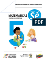matematica 5to año colombia