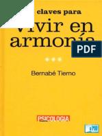 12 Claves Para Vivir En Armonía. Psicología práctica. Tierno, Bernabé.pdf.pdf