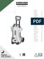 Karcher K3 User manual