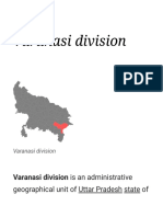 Varanasi division - Wikipedia