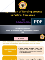 (Ns. Ifa) Application of Nursing process in Critical Care