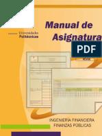 Manual  Finanzas Públicas