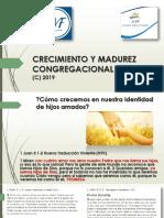 CRECIMIENTO Y MADUREZ CONGREGACIONAL