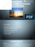 Transmission structures in power supply systems by sid.pptx
