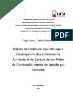 DISSERTACAO sobre câmara de combustão e coletores - TIAGO RESENDE