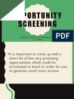 1 opporuntiy screening 1