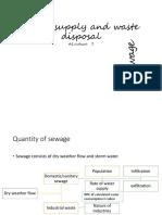 #8#waste disosal# sewage
