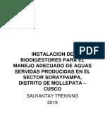 INSTALACION DE BIODIGESTORES PARA EL MANEJO ADECUADO DE AGUAS SERVIDAS PRODUCIDAS EN EL SECTOR SORAYPAMPA.pdf