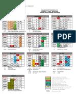 Kalender KKG  2019-2020