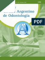 Revista Circulo Argentino de Odontologia
