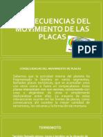CONSECUENCIAS DEL MOVIENTO DE LAS PLACAS.pptx