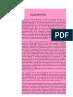 Doc Web Salvador Dali