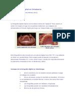 Fotografía digital en ortodoncia