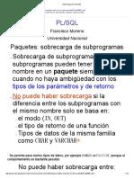 Sobrecarga de Funciones-CURSOR REFERENCIADO