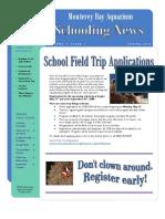 Monterey Bay Aquarium Schooling News Spring 2008