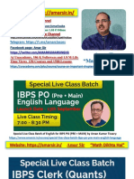 1. A. Caselet Part-I for IBPS PO Amar Sir www.amarsir.in