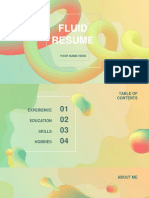 Fluid Resume by Slidesgo .pptx